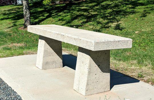 Full Concrete Benches